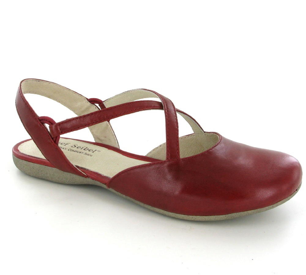 Josef Seibel Red Shoes